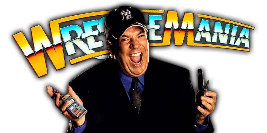 Paul Heyman WrestleMania 36