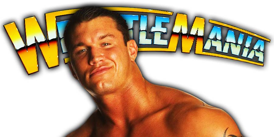 Randy Orton WrestleMania 36 PPV
