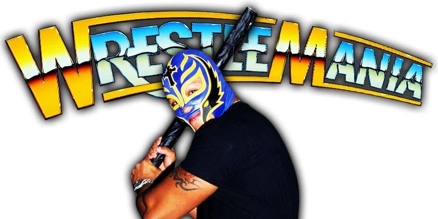 Rey Mysterio WrestleMania 36