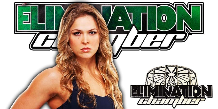 Ronda Rousey Elimination Chamber 2020