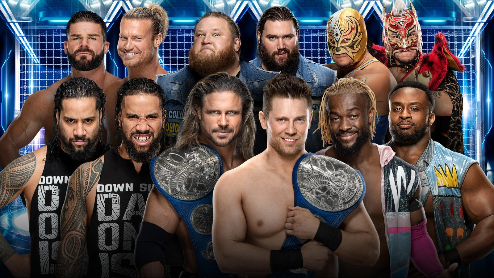 SmackDown Tag Team Championship Elimination Chamber Match 2020