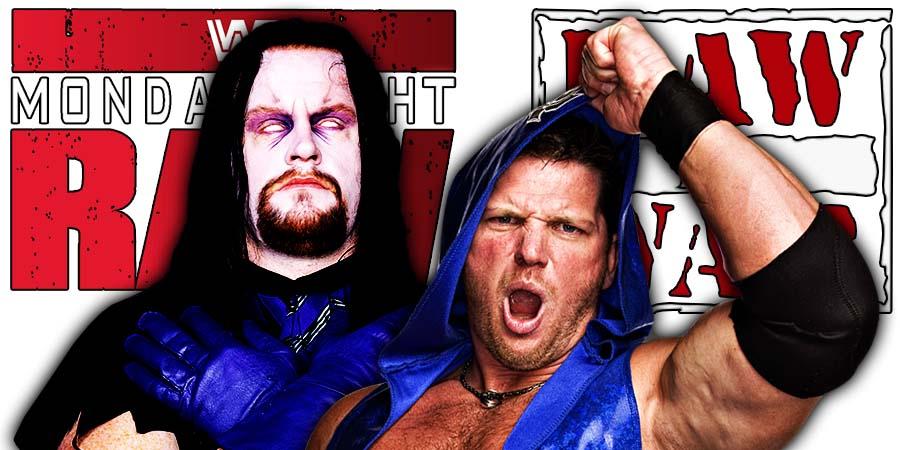 The Undertaker AJ Styles WWE Monday Night RAW