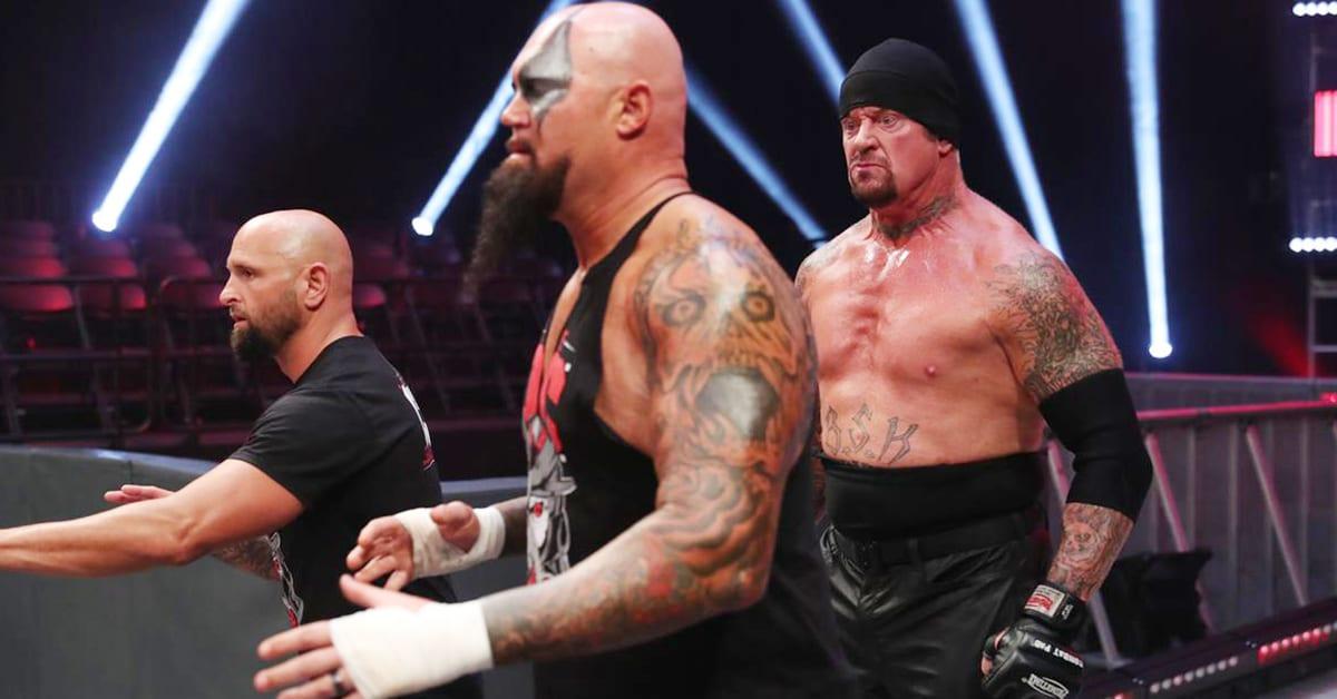 The Undertaker American Badass Look WWE RAW March 2020 The OC Luke Gallows Karl Anderson