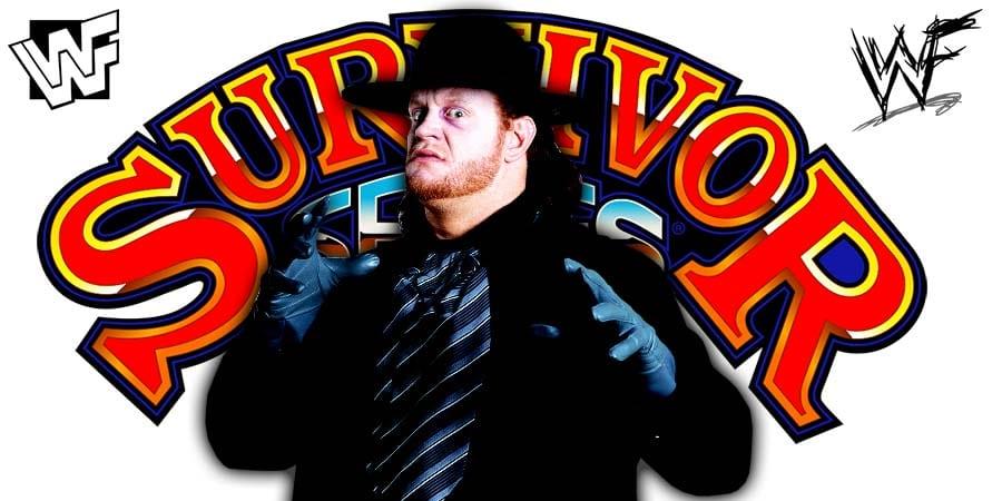 The Undertaker Survivor Series 2020