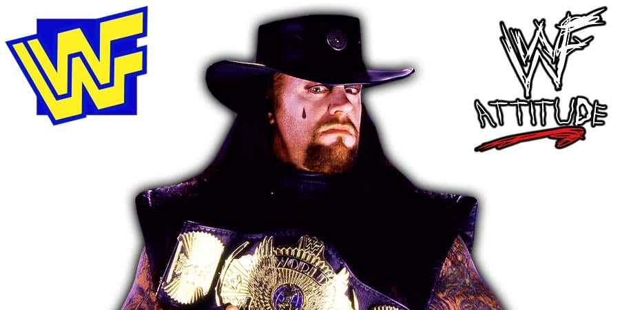 The Undertaker WWF Champion 1997