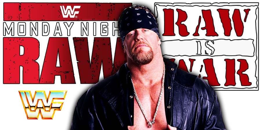 Undertaker American Badass RAW