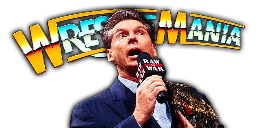 Vince McMahon Mr McMahon WrestleMania 36