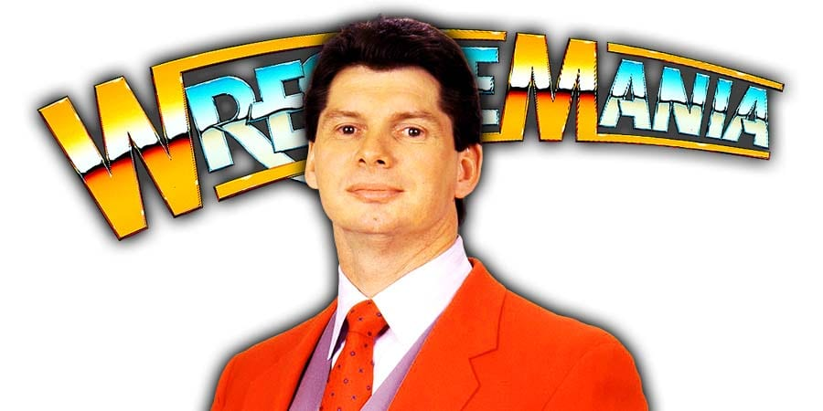 Vince McMahon WrestleMania 36 Two Day Event