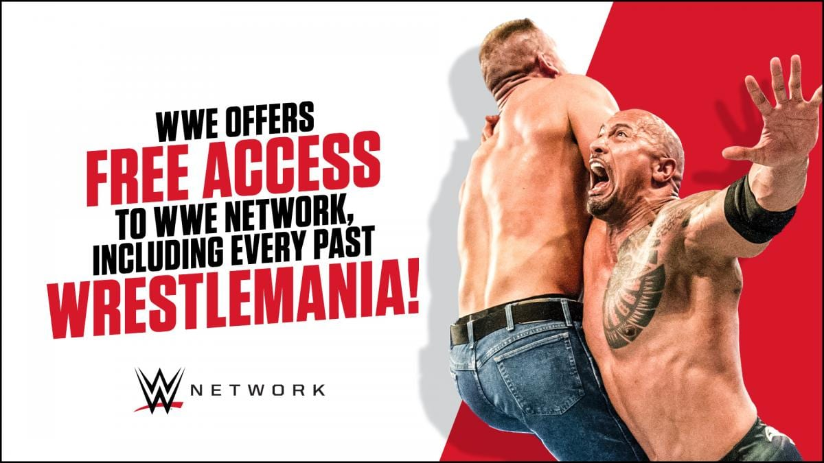 WWE Offers Free Access To WWE Network