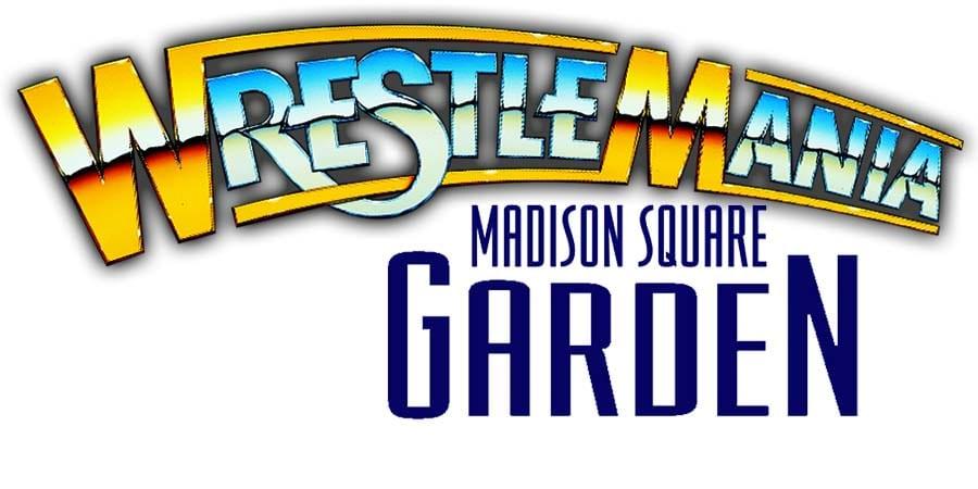 WWE WrestleMania 36 Madison Square Garden MSG