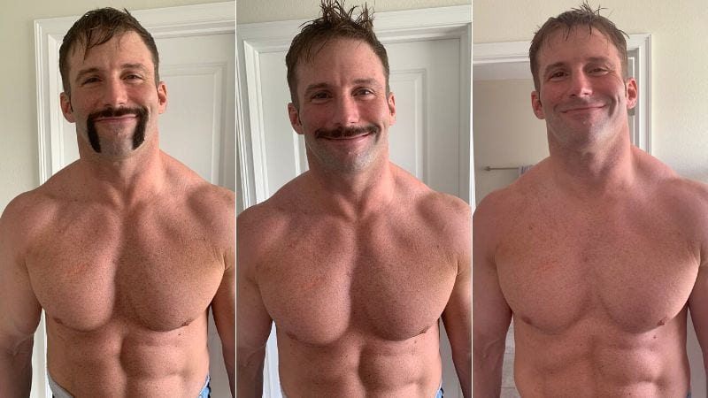 Zack Ryder's New Clean Shave Look - March 2020