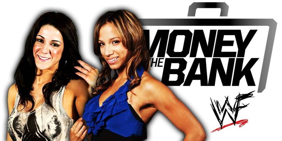 Bayley Sasha Banks WWE Money In The Bank