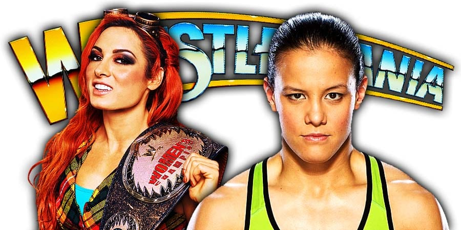 Becky Lynch Defeats Shayna Baszler at WrestleMania 36