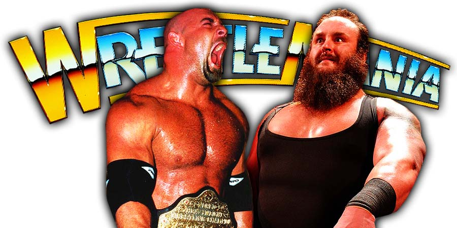 Braun Strowman Destroys Goldberg At WrestleMania 36