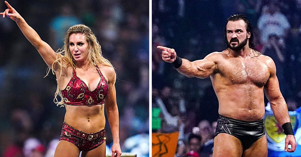Charlotte Flair Drew McIntyre Win WWE Royal Rumble 2020 Matches