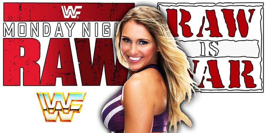 Charlotte Flair RAW Article Pic