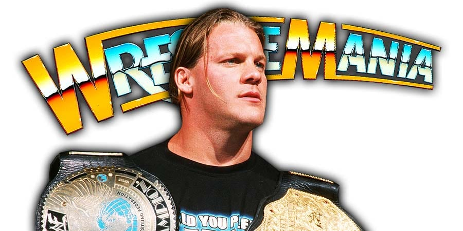 Chris Jericho WrestleMania 36