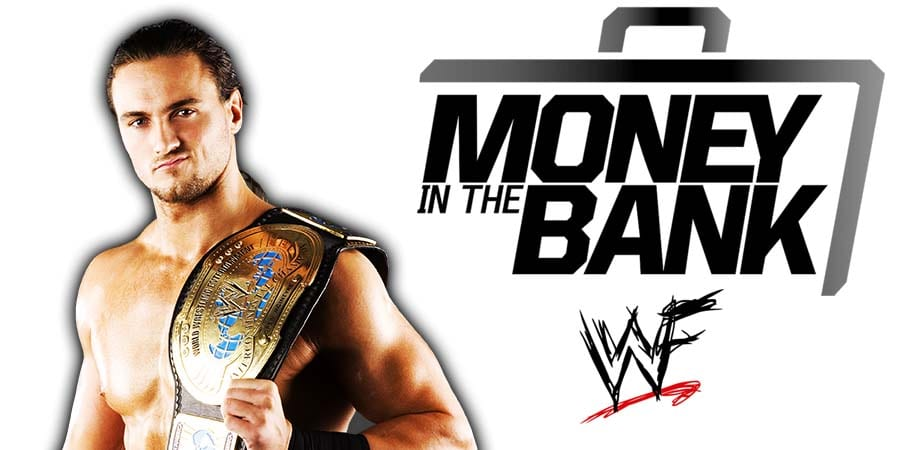 Drew McIntyre Champion Money In The Bank 2020