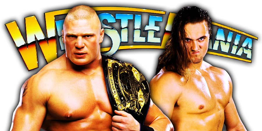 Drew McIntyre Defeats Brock Lesnar At WrestleMania 36