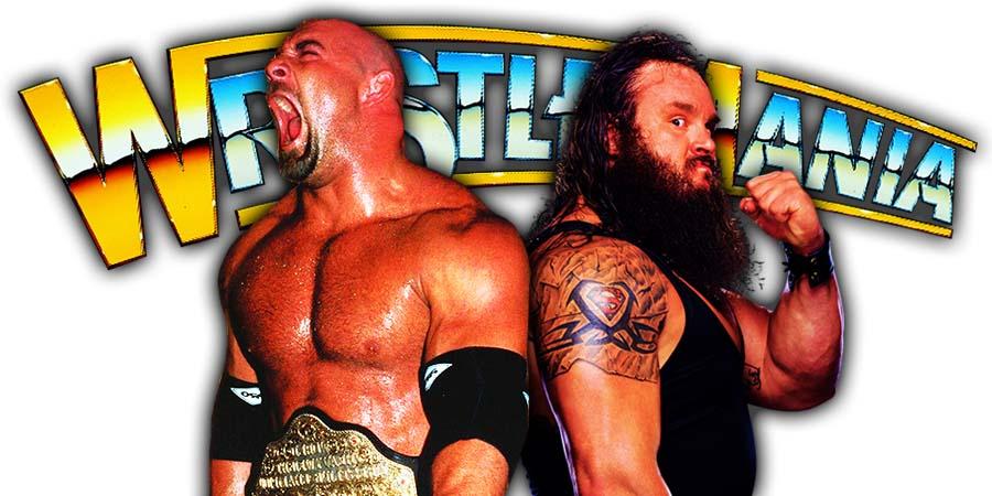 Goldberg Loses To Braun Strowman At WrestleMania 36