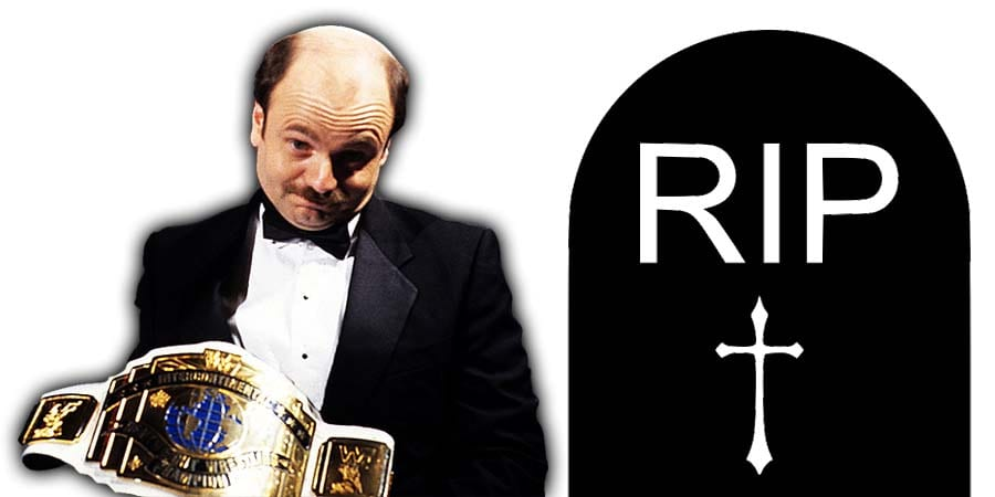 Howard Finkel With WWF Intercontinental Champion RIP Death