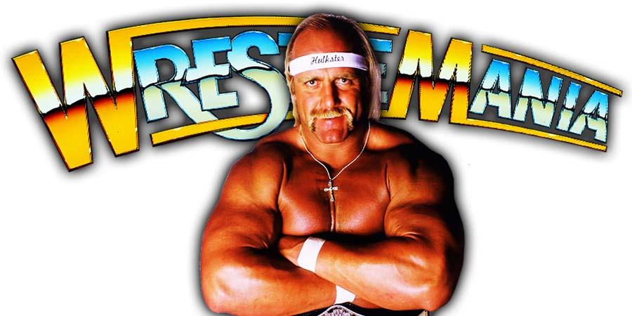 Hulk Hogan WrestleMania 36