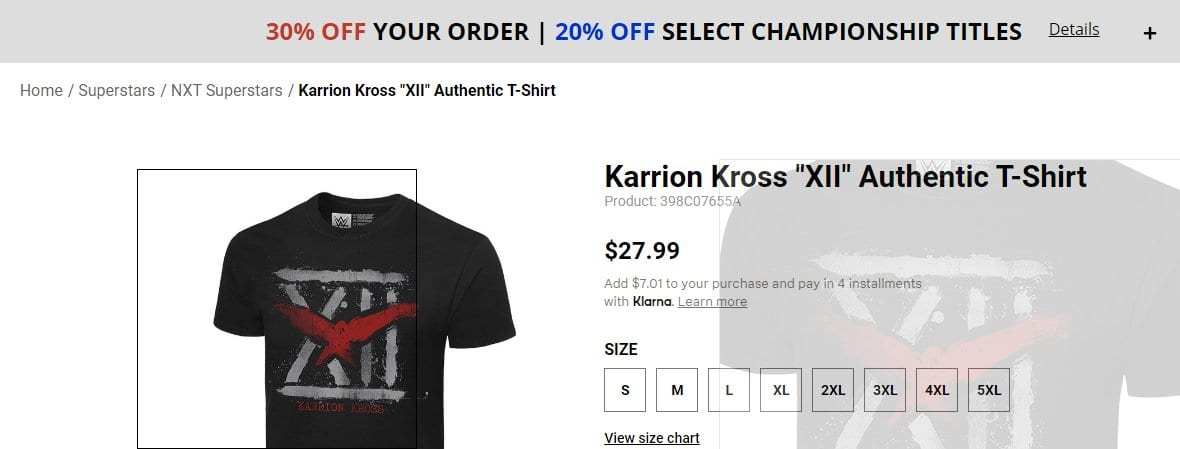 Killer Kross Name Changed To Karrion Kross In WWE NXT