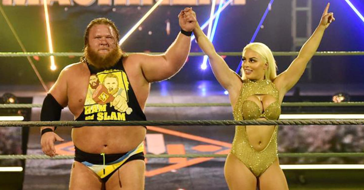 Otis Mandy Rose Celebrate WrestleMania 36
