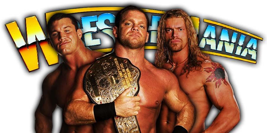 Randy Orton Chris Benoit Edge WrestleMania 36