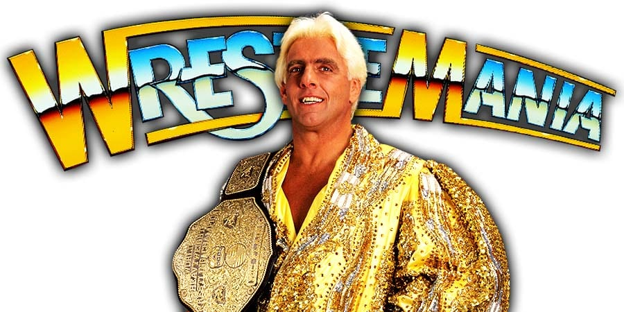 Ric Flair WrestleMania 36