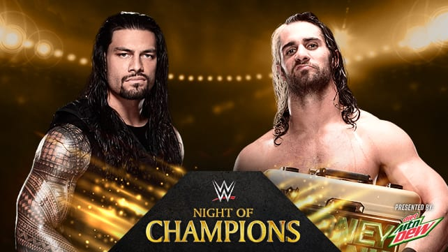 Roman Reigns vs Seth Rollins - WWE Night Of Champions 2014