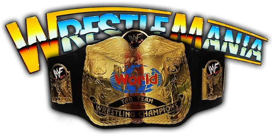 Tag Team Championship WrestleMania