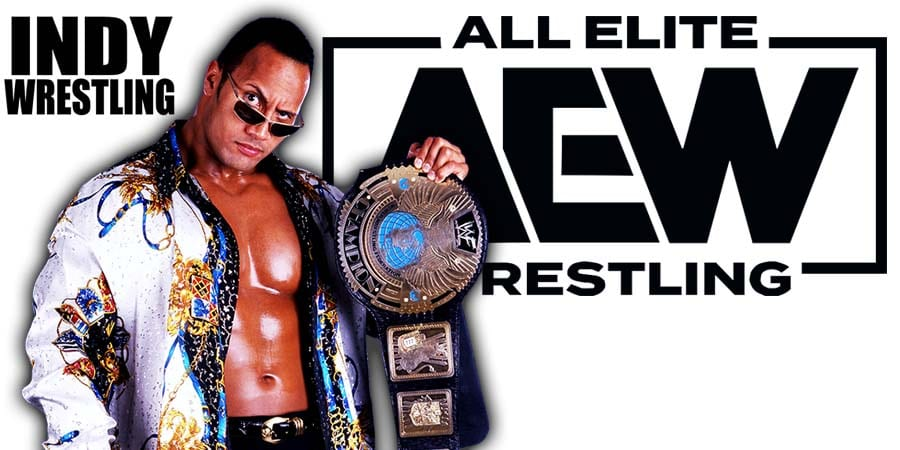 The Rock AEW