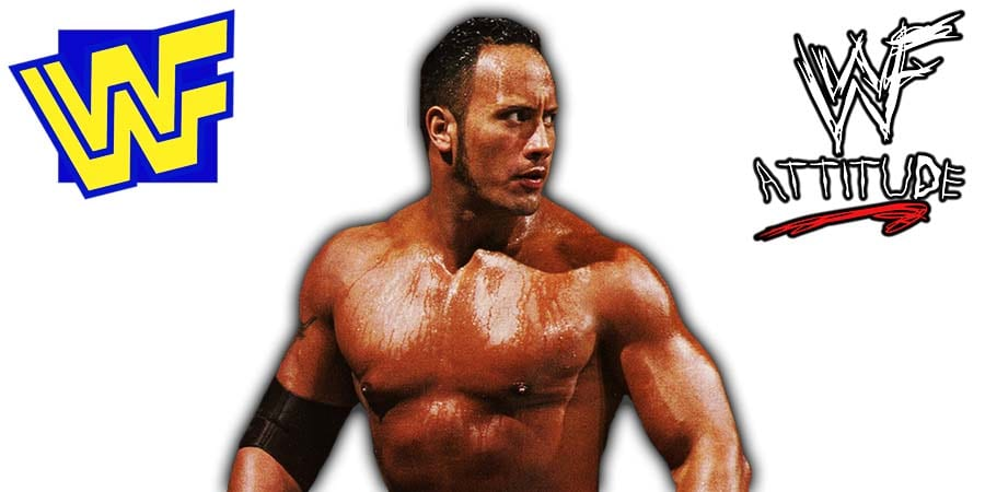The Rock WWF 1998