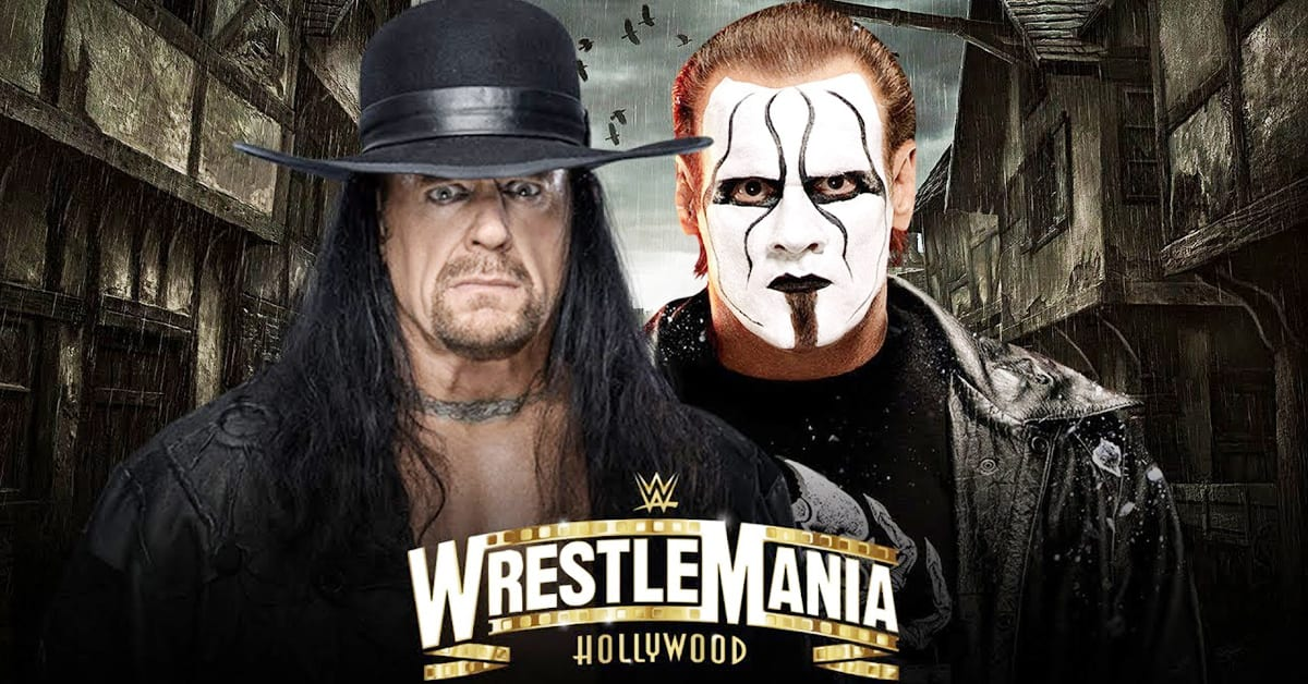 The Undertaker vs Sting - WrestleMania 37 Hollywood (Boneyard Match)