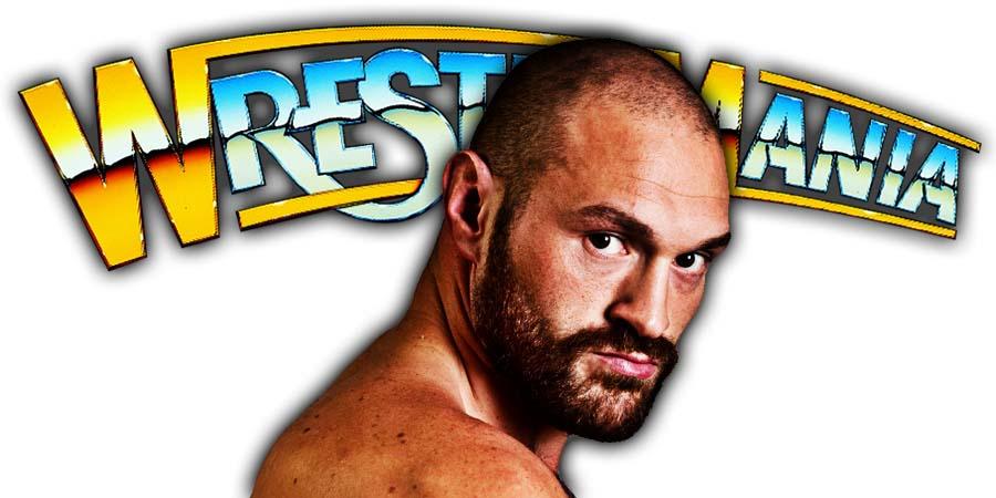 Tyson Fury WrestleMania