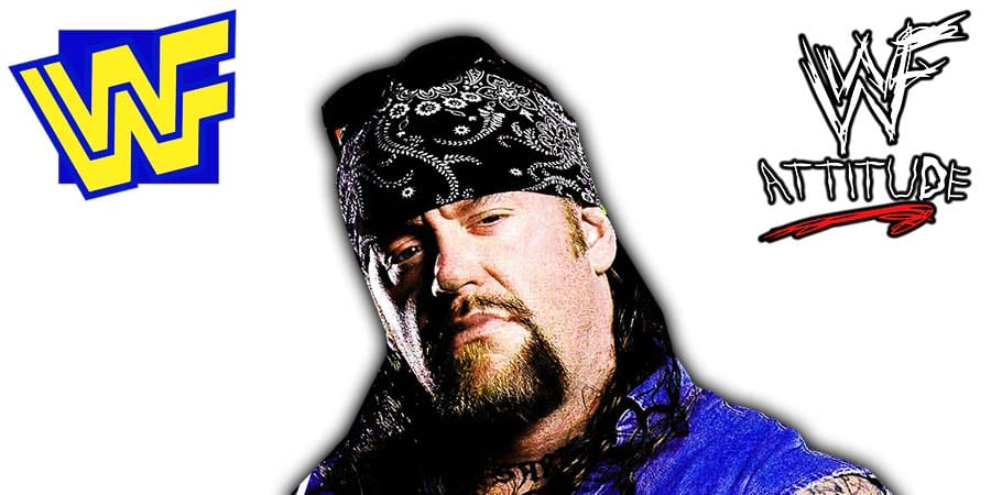 Undertaker American Badass WWF 2000