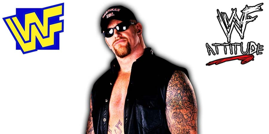 Undertaker Deadman Inc WWF