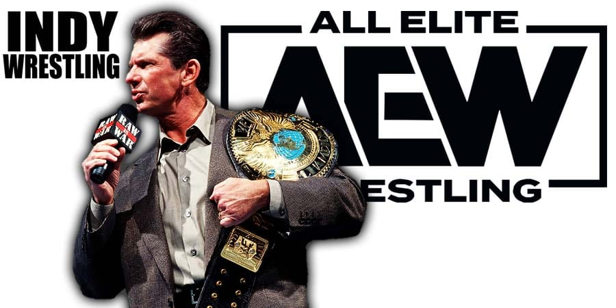 Vince McMahon AEW All Elite Wrestling Indy Wrestling