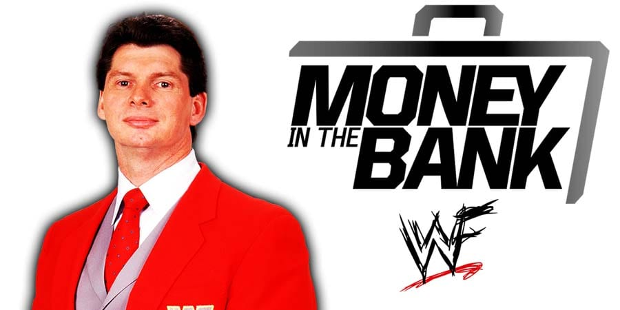 Vince McMahon Money In The Bank 2020