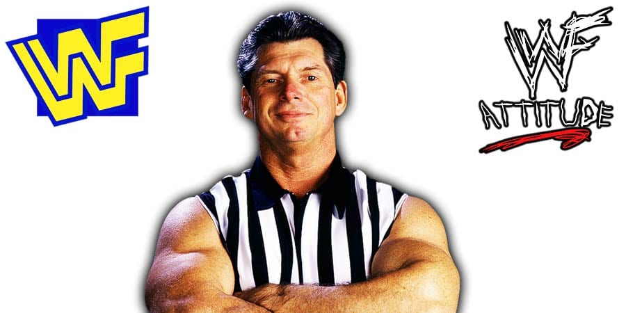 Vince McMahon WWF Referee Jacked Muscular