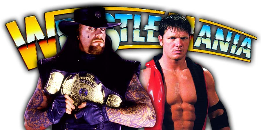 WWF Champion The Undertaker vs AJ Styles WrestleMania 36