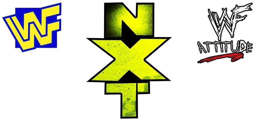 WWF WWE NXT Logo