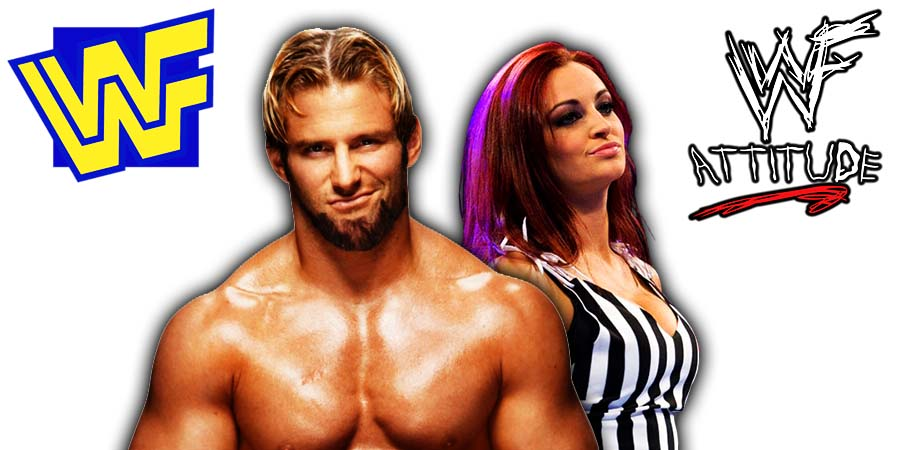 Zack Ryder Maria Kanellis Released From WWE