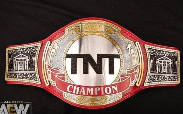 AEW TNT Championship Title Belt Completed Version