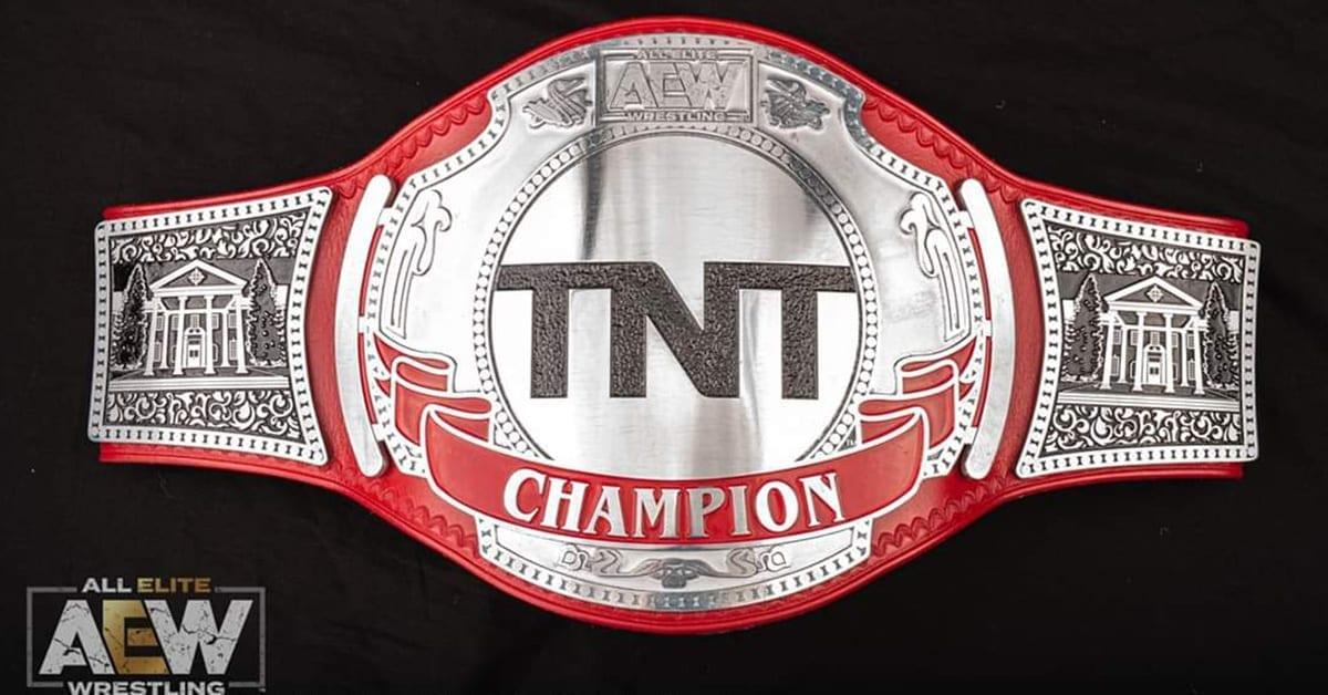 AEW TNT Championship Title Belt