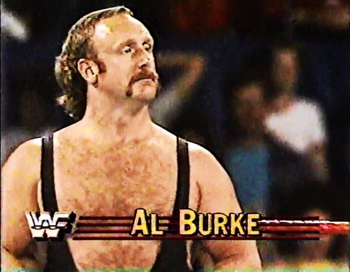 Al Burke WWF Jobber