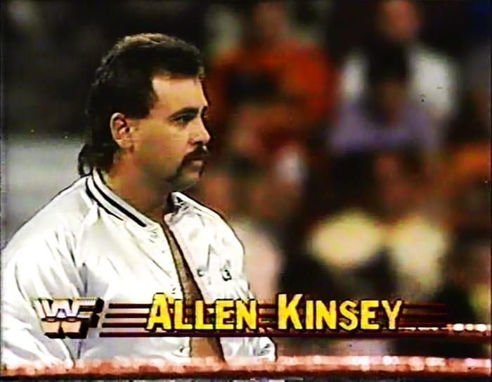 Allen Kinsey WWF Jobber