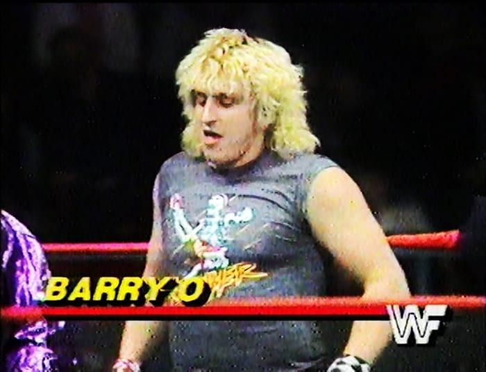 Barry O WWF Jobber