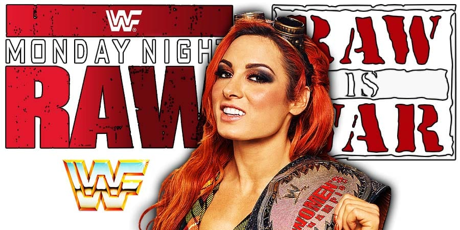 Becky Lynch RAW Champion Article Pic